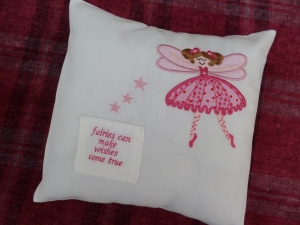 Girls Toothfairy Cushion